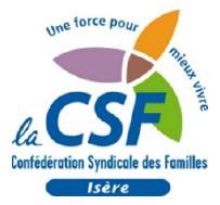 Confédération Syndicale des Familles Isère